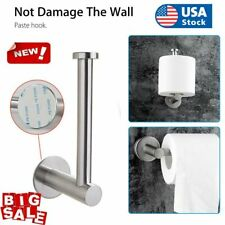 Stainless Steel Wall Mounted Bathroom Toilet Paper Holder Rack Tissue Roll Stand