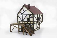 WWG MedievalTown MDF Fantasy Cottage - 28mm WargameTerrain Model Diorama