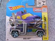Hot Wheels 2015 #117/250 DIESEL DUTY purple HW OFF-ROAD Case L