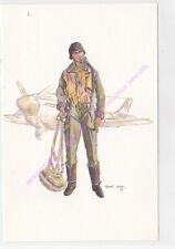 CP MILITARIA R AUBRY Costumes aviation aviateur 1940 1945