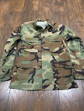US Military Vintage Genuine Camo Shirt Authentic Camouflage Men's PRE-OWNED #9