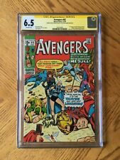 Avengers #83 Signed Roy Thomas Tom Palmer 1st Valkyrie & Liberators 6.5 FN+ CGC
