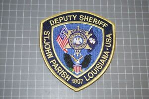 St. John Parish Louisiana Deputy Sheriff Patch (B17-A7)