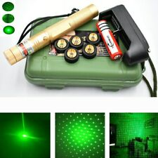 LASERPOINTER GRÜNER STRAHL 30 kM  AKKU+ STAR CAPS 1mW GREEN LASER POWER POINTER