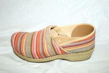 ab21 dansko clogs shoes slides hiking knitted striped  womens shoes lace up 41