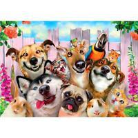 5D DIY Full Drill Diamond Painting Dogs Cross Stitch Embroidery Mosaic Kits