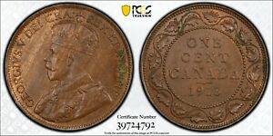 1913 Canada Large Cent PCGS MS62 BN Bronze Registry Coin KM 21