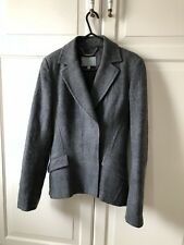 Lovely Jacket By Jigsaw, Wool/Linen Blazer in excellent condition, size 8 UK, XS