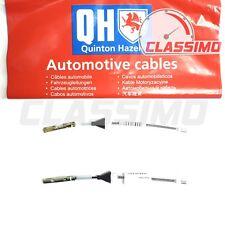 Rear Handbrake Cable Pair for FORD FOCUS Mk 2 - 2004-2008 (drum brakes) - QH