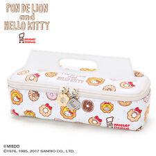 Hello Kitty × Mr. Donut (Pon de Lion) Takeout Box Type Pen Case SANRIO Japan
