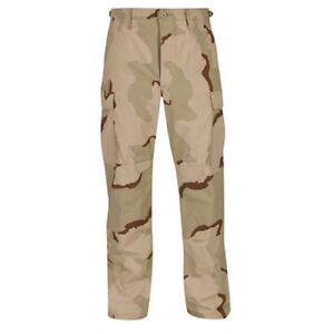 Propper BDU Trouser Button Fly F5201 3-Color Desert Camo 100% Cott RipStop DCU