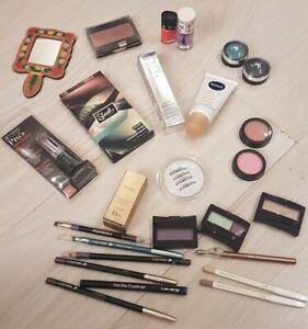 Lot maquillage cosmétique NEUF Lancome YSL Agnès B. Yves Rocher Nivea
