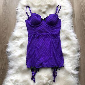 Victoria's Secret • Corset Style Bustier Size 34D