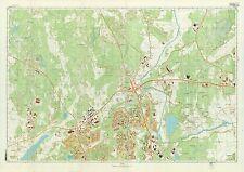 Russian Soviet Military Topographic Maps - HELSINKI (Finland), 1:10K, REPRINT