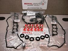 Toyota Tacoma 3.4L V6 Spark Plugs Wires Valve Cover Gasket Kit Genuine OEM OE