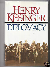 DIPLOMACY- NIXON SEC OF STATE HENRY KISSINGER SIGNED 1ST- GOOD - VG  CONDITION