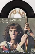 "7"" 45 tours vinyl SP - PETER FRAMPTON : I'm in You / St. Thomas"