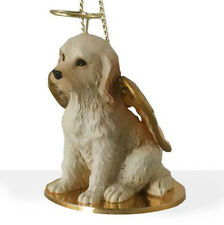 Labradoodle (Cream) Angel Dog Christmas Ornament Holiday Figurine Statue