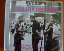 Soul City New York 2-CD NEW SEALED Jackie Wilson/Chuck Jackson/Isley Brothers+
