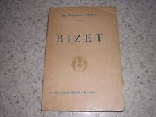 1920.Bizet / Gauthier-Villars.musique.bon ex.