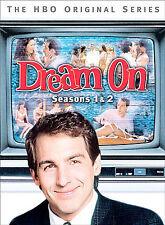 Dream On - Seasons 1 & 2 DVD 2004 HBO TV Sit-com, David Bowie, Tom Berenger, Fra