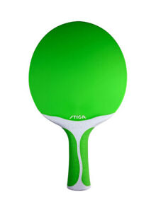 Stiga Flow Green Ping Pong Table Tennis Paddle Racket