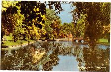 Vintage Unused Postcard Norfolk Thetford, Spring Walk & Bridge 2 (Dads Army Loc)