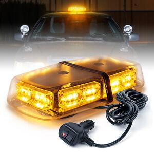 Xprite 36 LED Rooftop Strobe Light Rotating Beacon Emergency Flash for 12V Truck