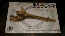Dark Horse Mass Effect Andromeda SDCC 2017 Bronze Tempest Ship Replica  Limited