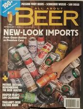 All About Beer Sept 2017 New Look Imports Form Green Bottles  FREE SHIPPING mc