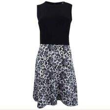 DKNY womens Lace Print Combo Dress Size 00 new with tags