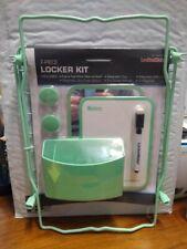 LockerMate 7-Piece School Locker Kit in Mint Green ~ New in Packaging