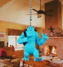 Disney Monster Inc University Sulley Ceiling Fan Pull Light Lamp Chain K1074 A