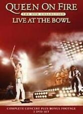 QUEEN ON FIRE LIVE - Music Concert At Rose Bowl 2-Disc Set New UK Region 2 DVD