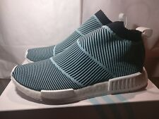 DEADSTOCK Adidas NMD CS1 Parley Primeknit Boost Blue White US Mens Size 10 d665705f5cc25