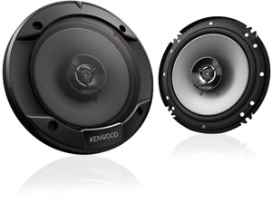 Kenwood KFC-S1666 300 Watt 6.5-Inch Coaxial 2 Way Car Audio Speakers (1 Pair)