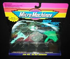 Classic - Star Trek Next Generation Ships - Unopened 1993 Micro Machines