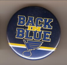St Louis Blues--Back in Blue--Logo Pin