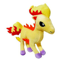 "Pokemon Center Rapidash Horse Plush Toy Stuffed Animal Figure Doll 12"" New"
