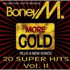 More Gold: 20 Super Hits Vol II By Boney M On Audio CD Album 1998 Very Good