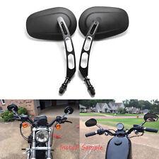 For Harley-Davidson Dyna Super Glide EFI Tapered Billet Rearview Side Mirrors