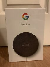 GOOGLE Nest Mini 2nd Generation - Charcoal - NEW with Free shipping