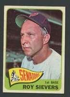 1965 Topps #574 Roy Sievers VGEX Senators 25923