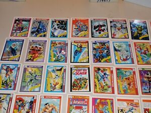 Marvel Universe Series 1 Lot of 32 Cards - Great Condition