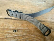 20mm Grey Zulu/NATO Watch Strap