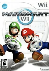 Mario Kart Wii - Game And Case