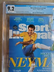 2017 Sports Illustrated Soccer Neymar da Silva Santos Jr. Newsstand CGC 9.2