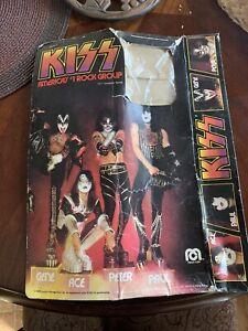 "Vintage 1977 Mego Kiss 12"" Figure Box Loose - Kiss Rock Band 1970's - Original"
