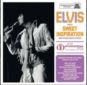 Elvis Presley CD Elvis Sings Sweet Inspiration And Other Great Songs!