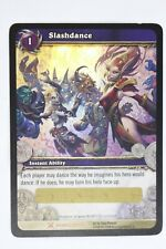 World of Warcraft Ccg Tcg Drums of War Slashdance Loot Card Unscratched WoW